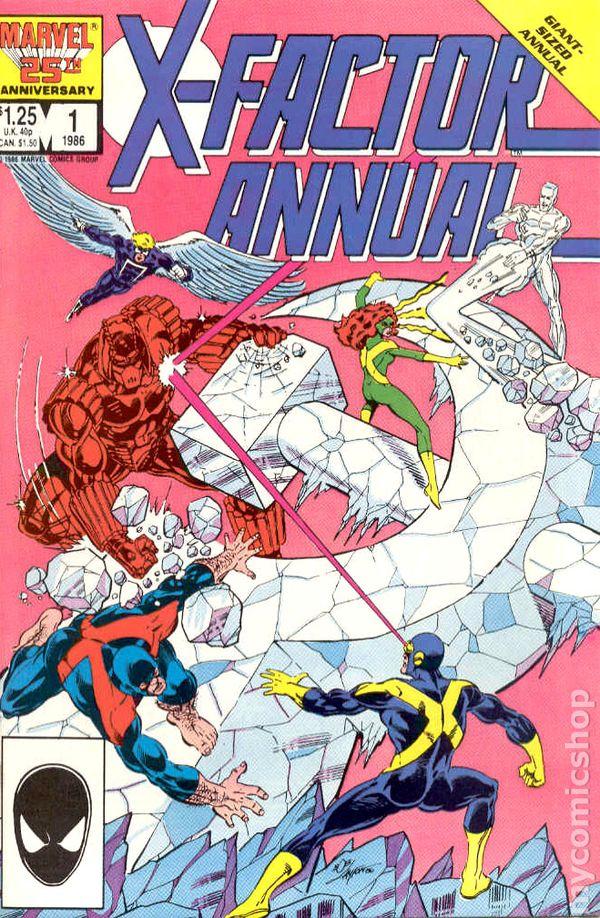 X-Factor 1986 series # 35 very fine comic book