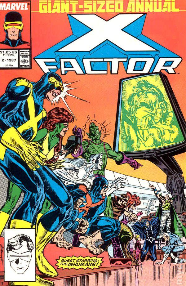 X-Factor 1986 series annual # 6 near mint comic book Superhero