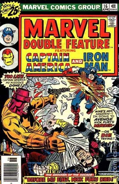 Marvel Double Feature  1973  Comic Books