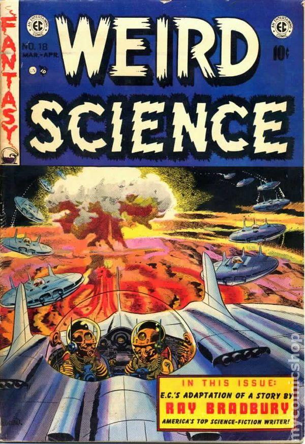 Weird Science 1950 E C Comic Books