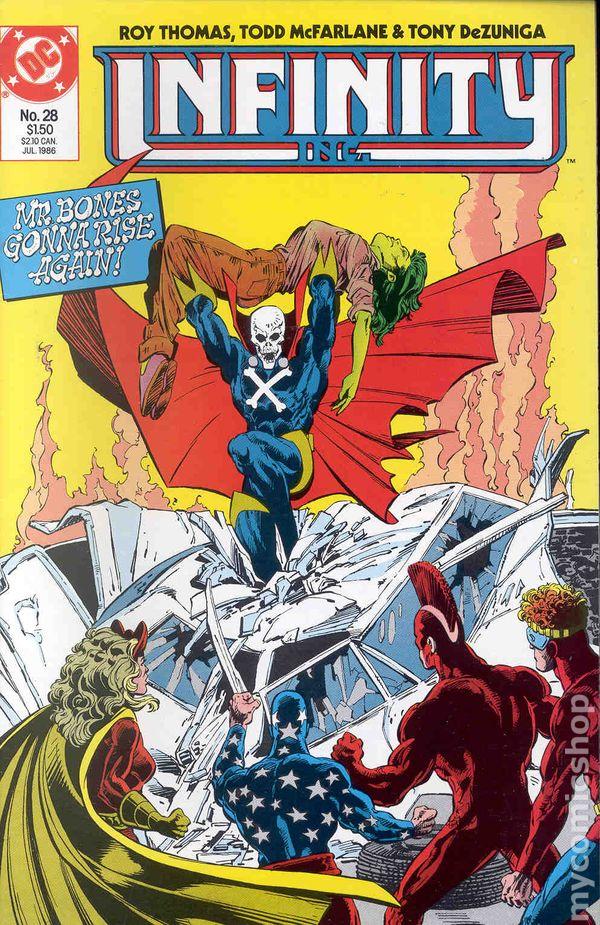 No.21 1985 Roy Thomas /& Todd McFarlane Infinity Inc