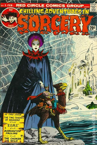 Chilling Adventures In Sorcery 1972 Comic Books