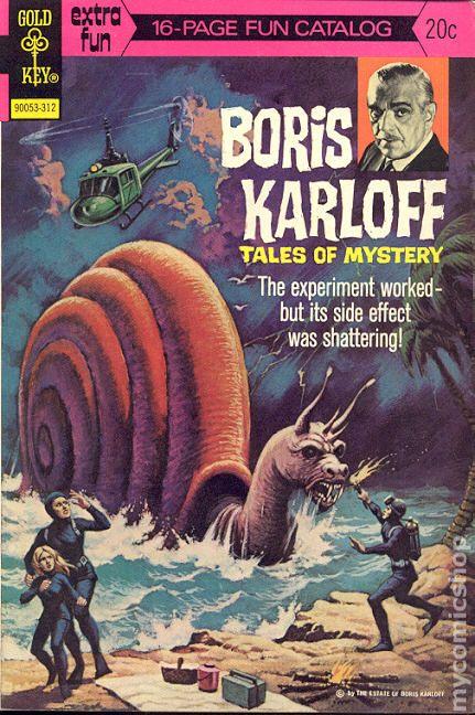 Boris Karloff Tales Of Mystery 1963 Gold Key 51
