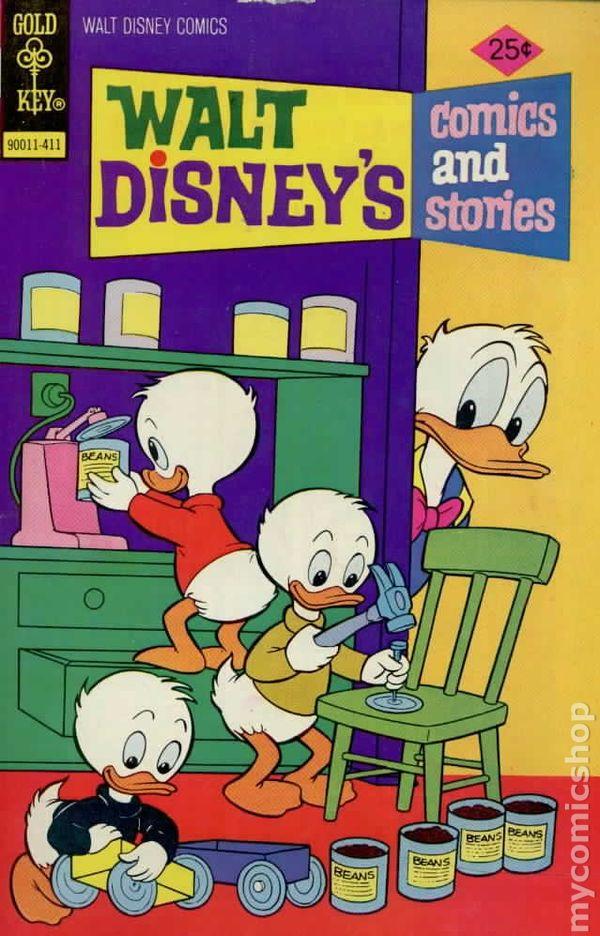 Walt Disney/'s Comics and Stories #447 FN 1977 Dell//Gold Key//Gladstone