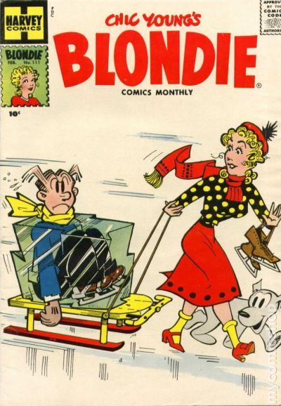 Comic books February 1958