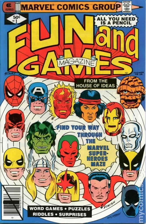 Marvel Fun And Games (1979) Comic Books
