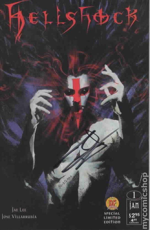 Hellshock 1997 2nd Series 1C Comic books