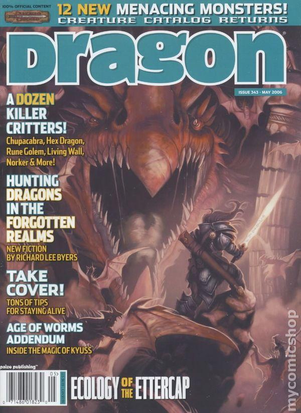 Dragon Magazine #341 Pdf