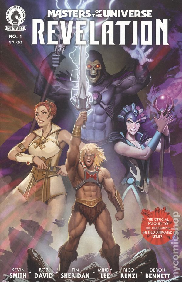 Masters of the Universe: Revelation #1A Cover