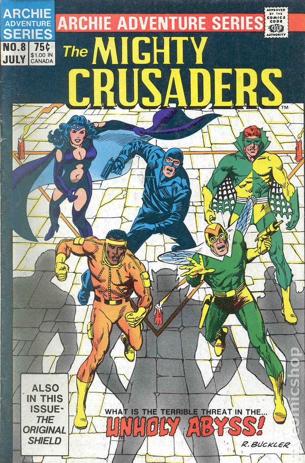 Mighty Crusaders 1983 Red Circle Archie Comic Books