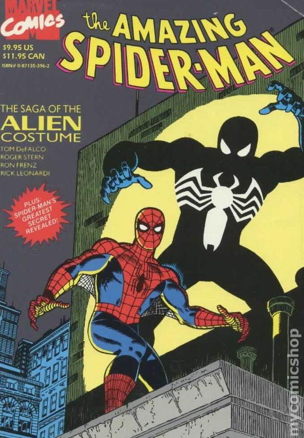 Amazing Spider-Man Saga of the Alien Costume TPB (1988 ... The Amazing Spider Man 3 Black Cat