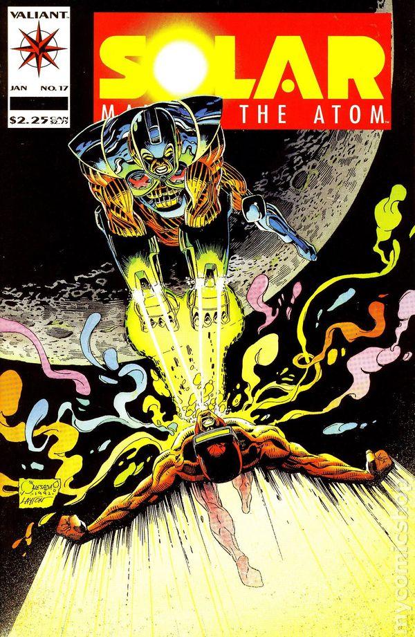 Solar, Man of the Atom Vol 2 1   Valiant Comics Database ...