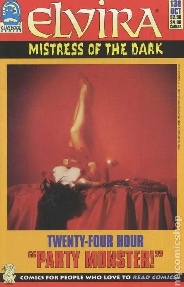 Fix My Phone >> Elvira Mistress of the Dark (1993) comic books