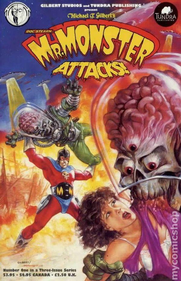 Favorite Books List: Mr. Monster Comic Books Issue 1
