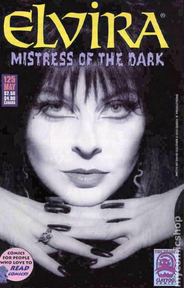 Elvira Mistress of the Dark (1993) comic books