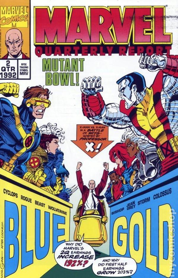Marvel Quarterly Report 1992 Comic Books