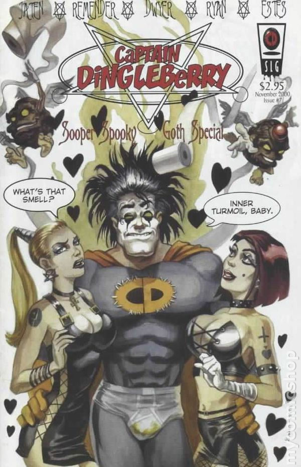 Captain Dingleberry Sooper Spooky Goth Special 2000