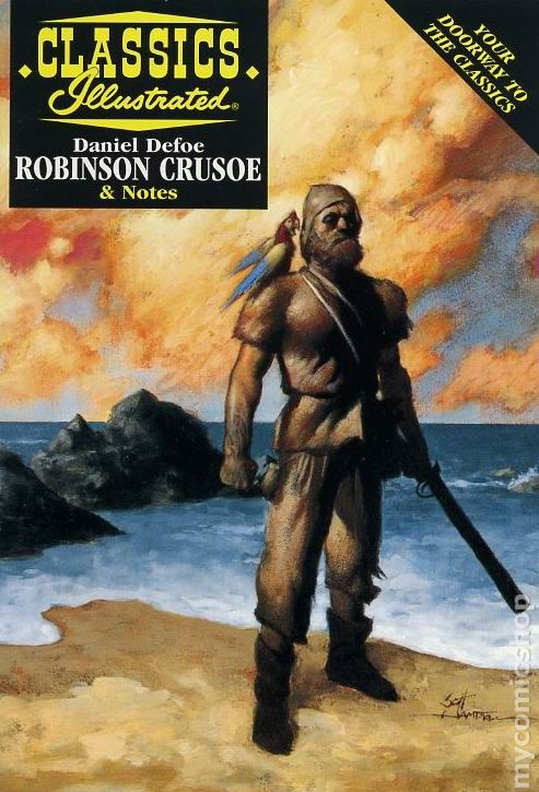 an analysis of the morals in robinson crusoe by daniel defoe