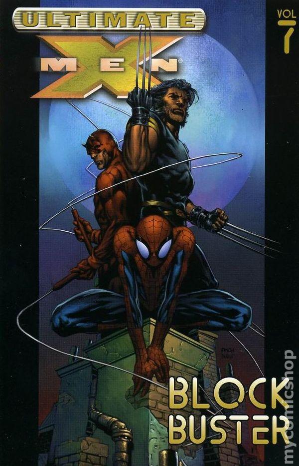 X-men comic books issue 7