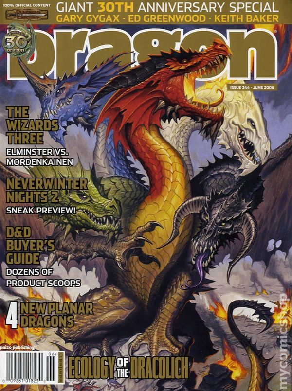Dragon Magazine #355 Pdf