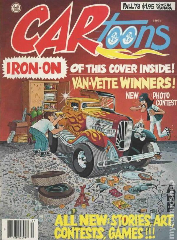 CARtoons 1959 Magazine 7809