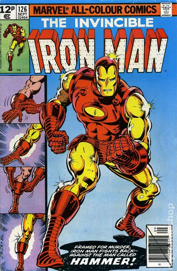 iron man comic books issue 126