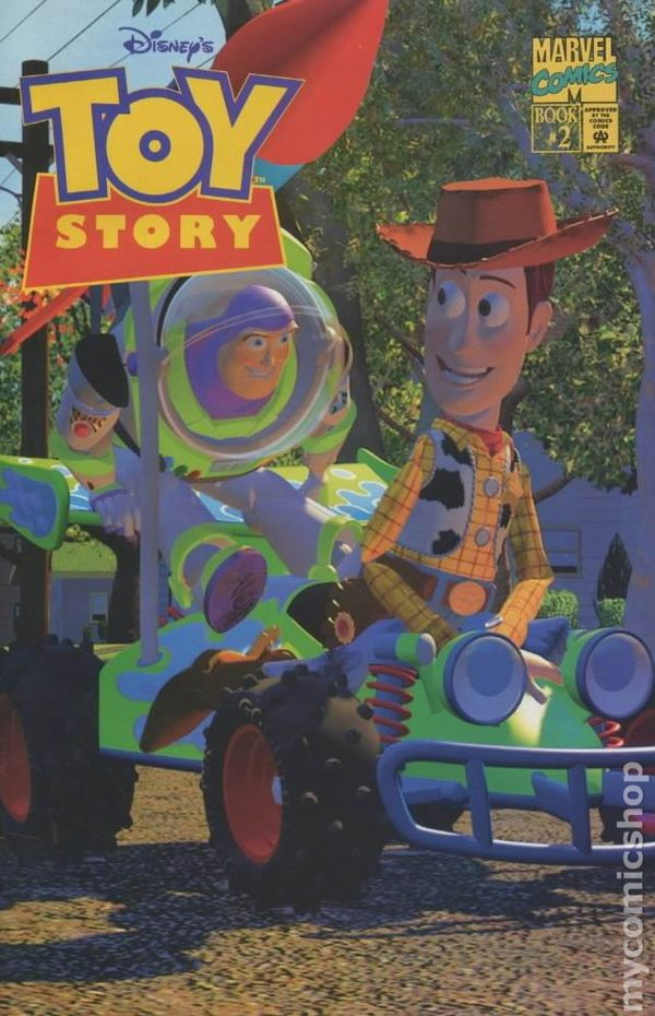 Toy Story (1995 1st series Marvel) comic books