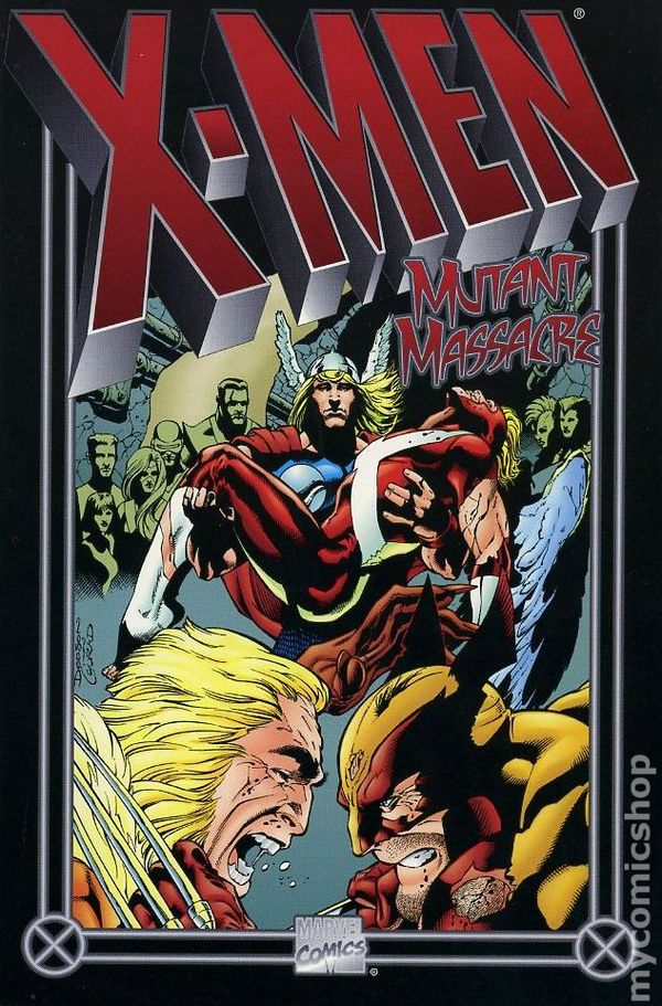 Image result for x men mutant massacre