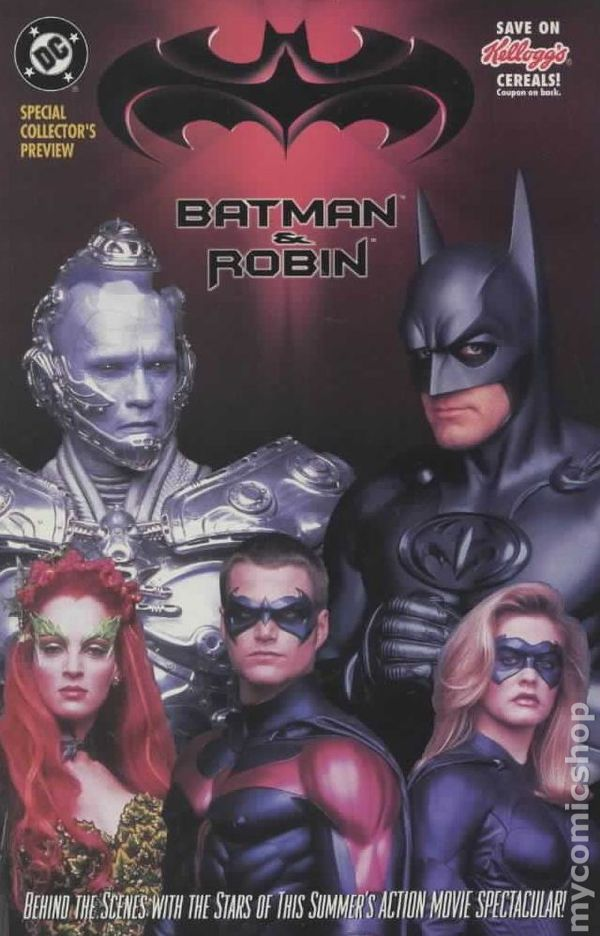 Batman And Robin Comic Books Issue 0
