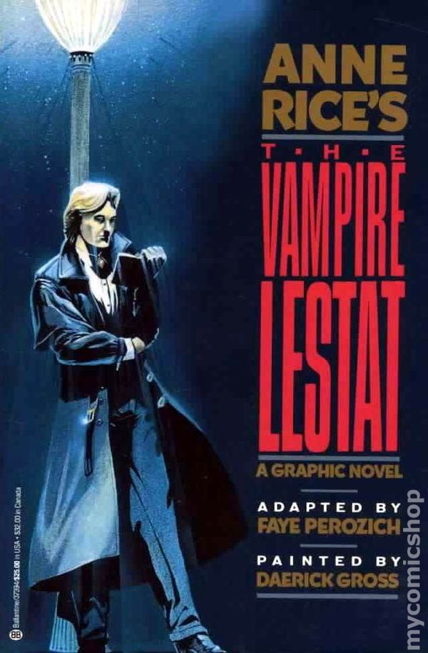 an analysis of the vampire lestat a character by anne rice Into anne rice's interview with the vampire with extended analysis,  commentary,  rice effectively contrasts lestat's character with the narrator's trait  by trait.