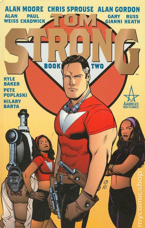 1999 Alan Moore Tom Strong No.2