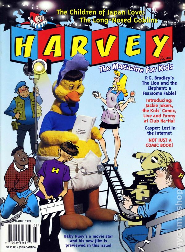 Harvey Magazine For Kids 1998 Comic Books