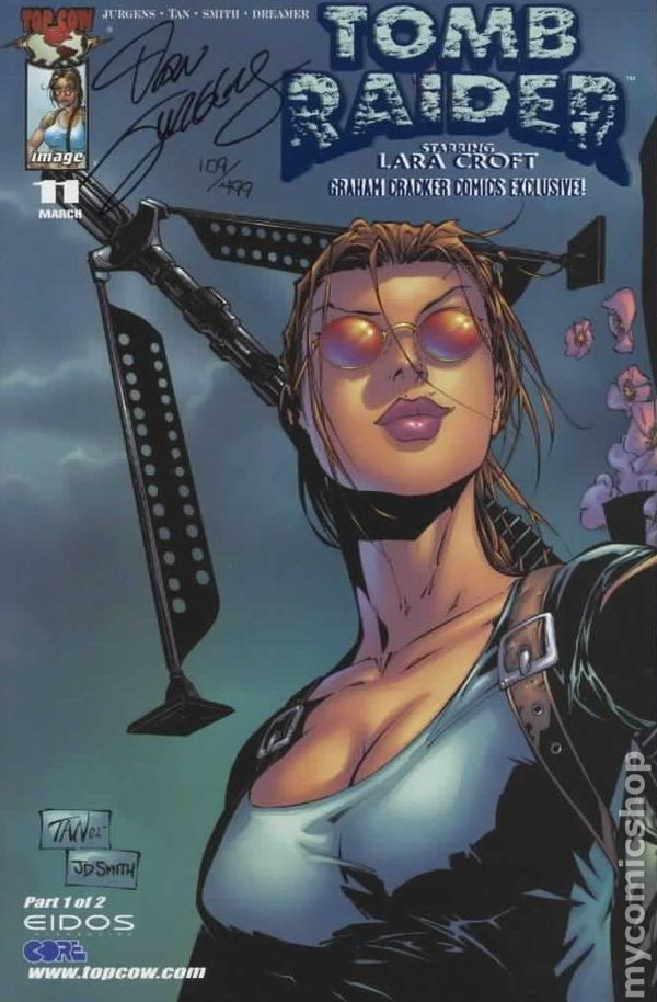 Tomb Raider Comic Books Issue 11
