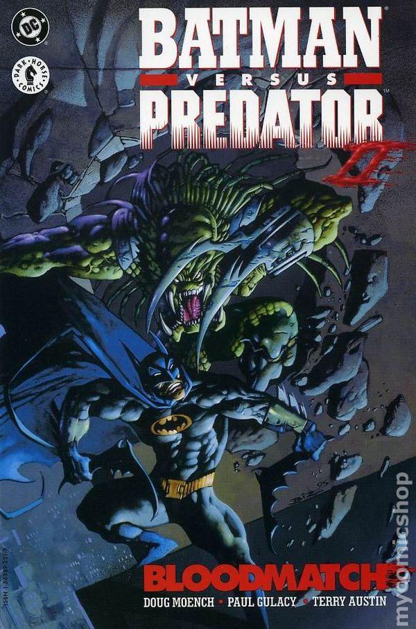 Batman vs. Predator II Bloodmatch TPB (1995 DC/Dark Horse ...