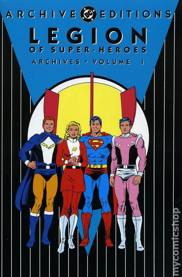comic books in  u0026 39 legion of superheroes u0026 39