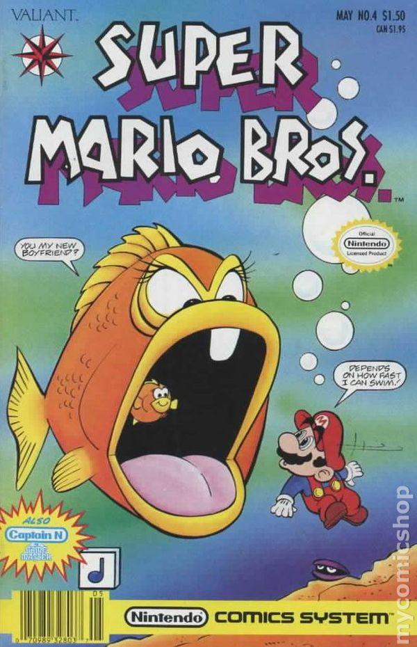 Super Mario Bros 1991 2nd Series Comic Books