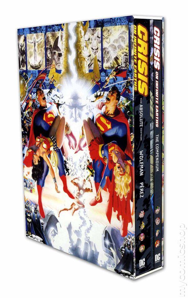 comic books in  u0026 39 crisis on infinite earths u0026 39
