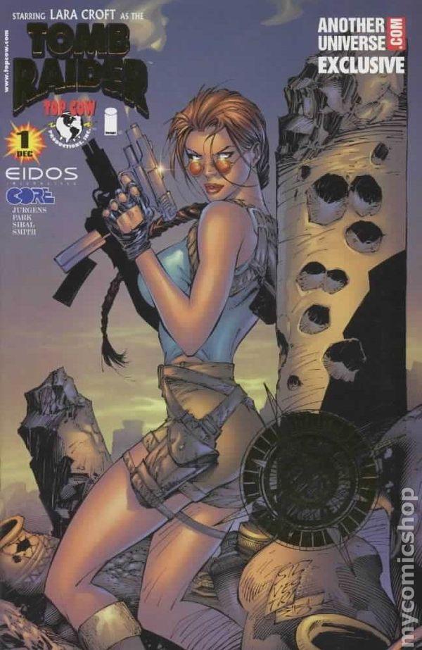 Image Comics TOMB RAIDER # 1 1999 Another Universe.com variant NM 9.4