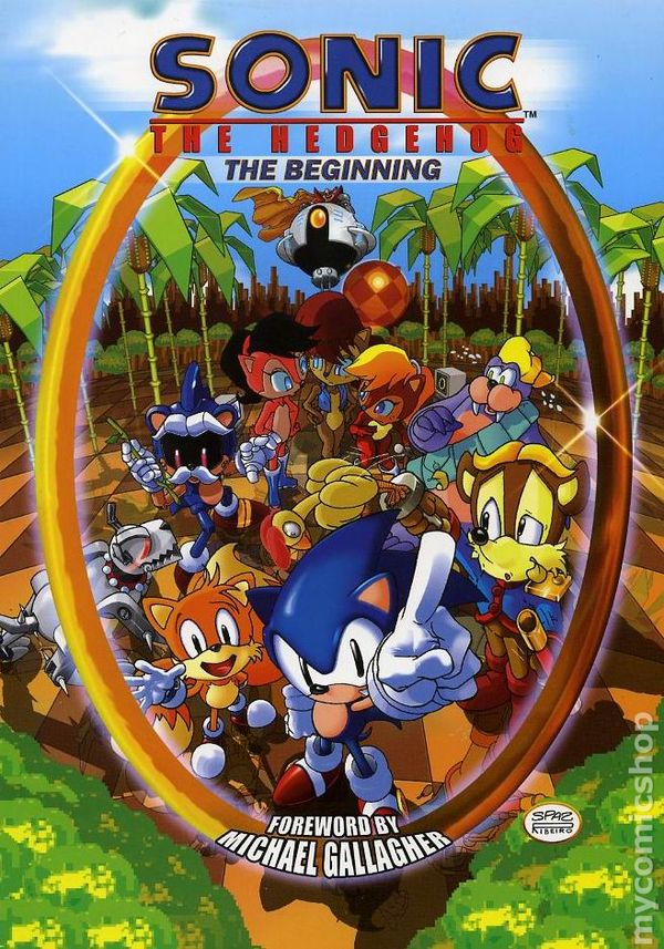 Sonic The Hedgehog The Beginning Tpb 2006 Archie Comic Books