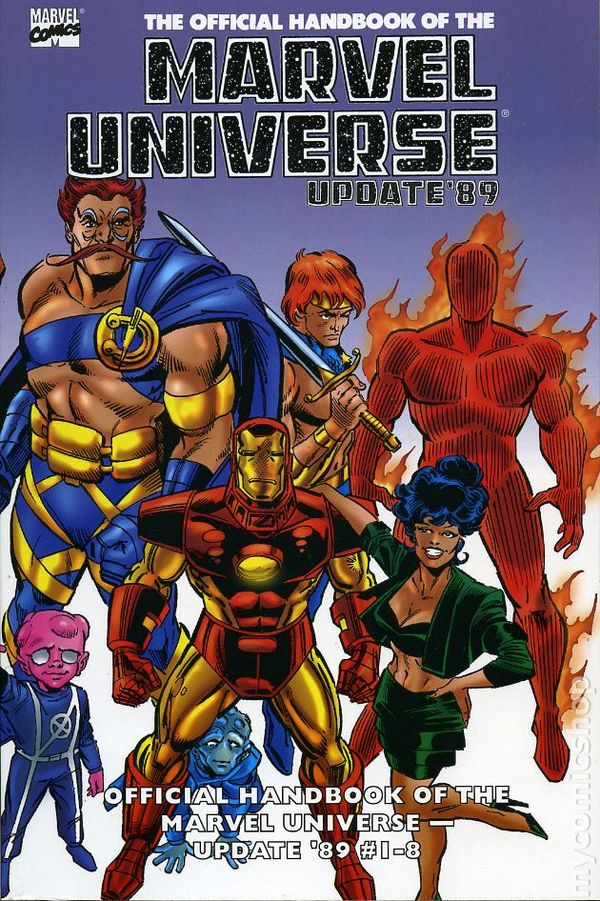 Essential Official Handbook of the Marvel Universe Update