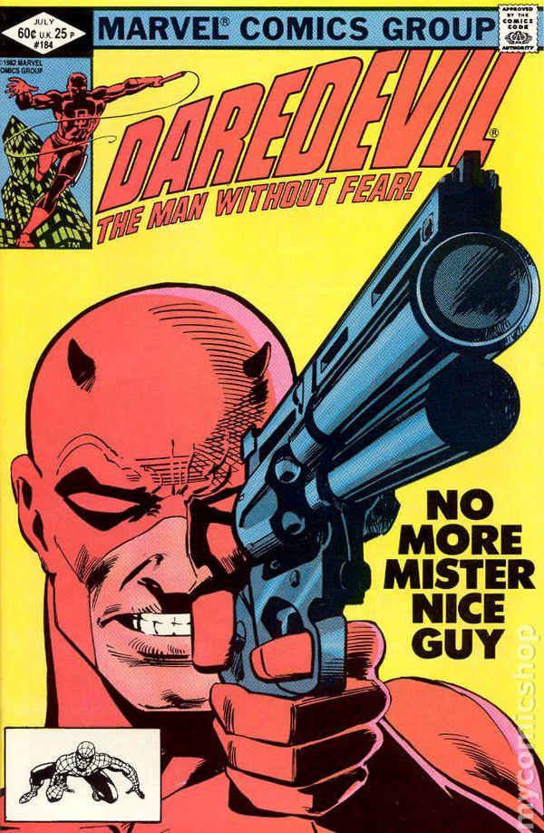 Daredevil Comic Books Issue 184