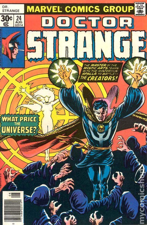 Doctor Strange 1974 2nd Series 24
