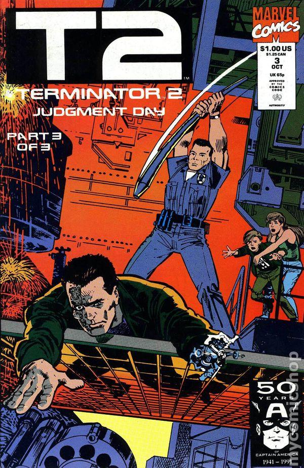 Terminator 2 Judgment Day 1991 Comic 3