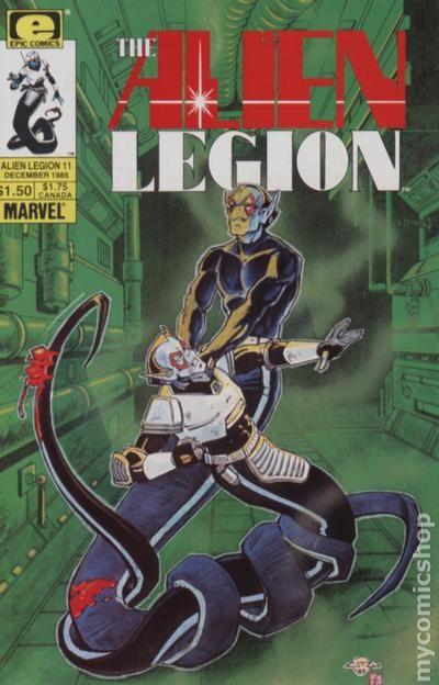 Alien Legion #13 FN 1986 Stock Image