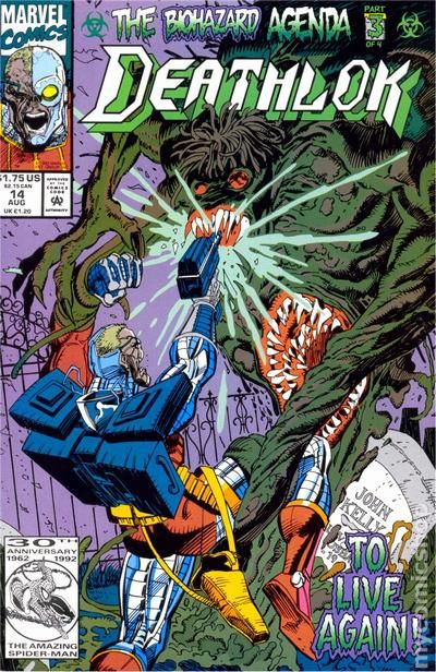 Deathlok #6 Marvel Punisher Silvermane Similar Machines Gregory Wright Cowan VF