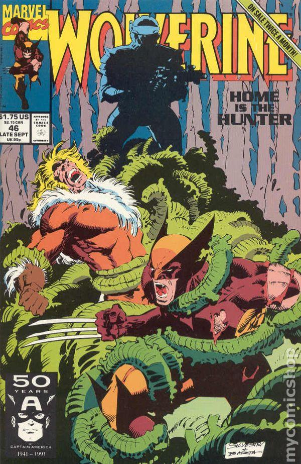Resultado de imagem para wolverine 1988 # 46