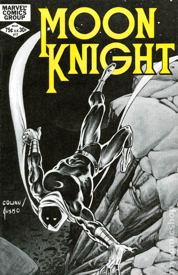 MOON KNIGHT #10 VERY FINE 1st series 1980