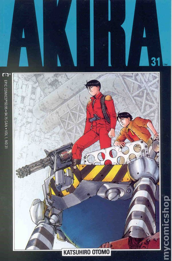 Akira-Manga Cover