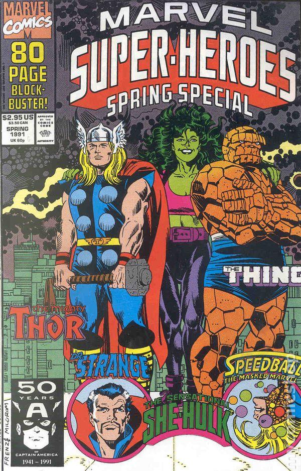 marvel super heroes 1990 2nd series comic books. Black Bedroom Furniture Sets. Home Design Ideas