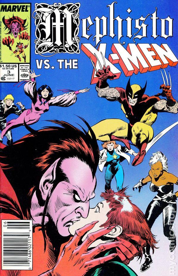 7faea64ab8 Mephisto vs. ... (1987) comic books